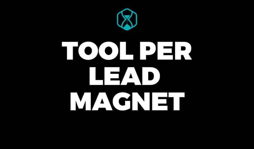 Tool per Lead Magnet - Lifetime Deals Italia