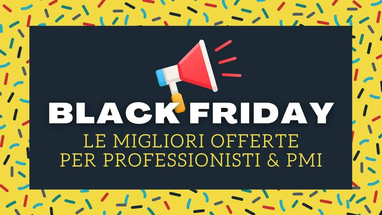 Video intervista - Black Friday 2020 - Lifetime Deals Italia